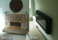 Fireplace Re-design